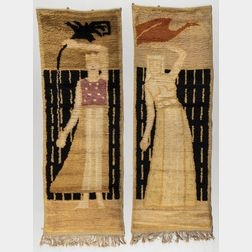 Two Scandinavian Tapestries