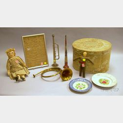 Nine Assorted Decorative and Collectible Items