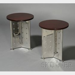 Pair of Philippe Starck Royalton Hotel Cocktail Tables