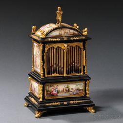Enamel-mounted Music Box