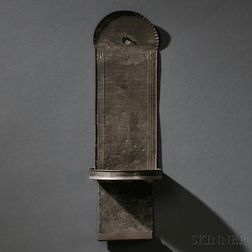 Shaker Tin Hanging Candle Sconce