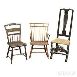Three Country Chairs