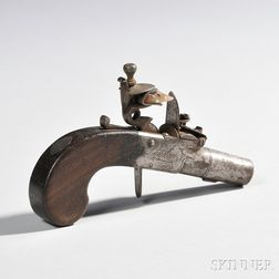 Boxlock Flintlock Pistol