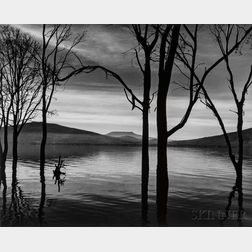 Brett Weston (American, 1911-1993)      Lake Patzcuro, Mexico