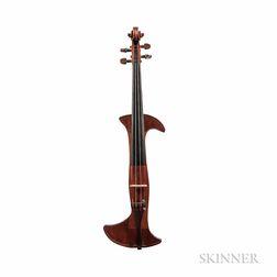 Italo-Argentine Mute Violin, Victor L. Siccardi, Buenos Aires, 1943