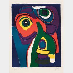 Karel Appel (Dutch, 1921-2006)      Untitled (Animal)