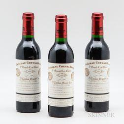 Chateau Cheval Blanc 1997, 3 demi bottles