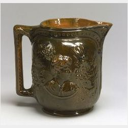 George Ohr Commemorative Pottery Jug