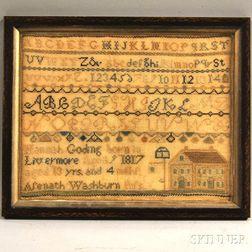Needlework Alphabet Sampler