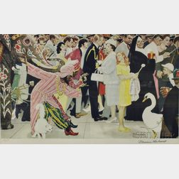 Norman Rockwell (American, 1897-1978)      Saturday's People