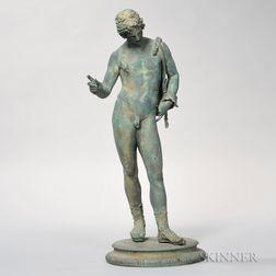 Neapolitan Bronze Figure of Narcissus