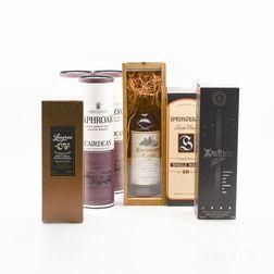 Mixed Whisky, 7 750ml bottles