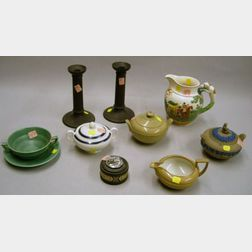Nine Assorted Wedgwood Ceramic Table Items