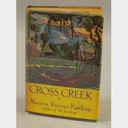 Rawlings, Marjorie Kinnan (1896-1953) Cross Creek.