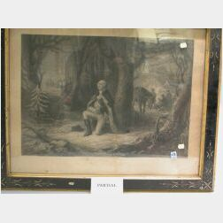 Three Framed George Washington Prints,   Lady Washington's Reception, The Prayer at Valley Forge