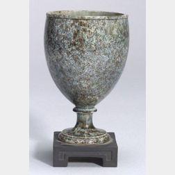 Wedgwood and Bentley White Terra Cotta Stoneware Vase