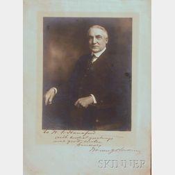 Harding, Warren G. (1865-1923)