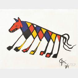 Alexander Calder (American, 1898-1976)      Beastie