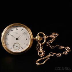 V. C. Vacheron & Company 18kt Gold Open Face Watch