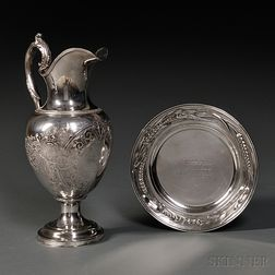 Two Tiffany & Co. Silver Presentation Pieces