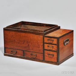 Wood Hibachi