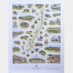 Berry Bros. & Rudd Maps and Detail, 2 posters
