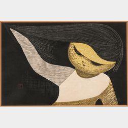 Kaoru Kawano (Japanese, 1916-1965)      Gentle Breeze