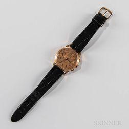 "18kt Gold Chronographe Suisse ""Egona"" Chronograph Wristwatch"