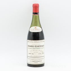 Domaine de la Romanee Conti Grands Echezeaux 1961, 1 bottle