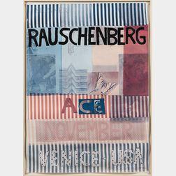 Robert Rauschenberg (American, 1925-2008)      Ace, November, Venice USA   Poster