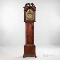 Walnut Tall Case Clock