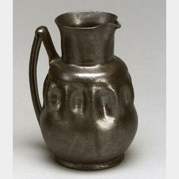 George Ohr Small Pottery Jug