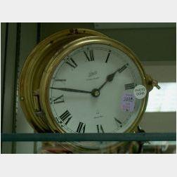 Schatz Brass Ships Bell/Wall Clock.