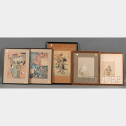 Five Japanese Prints