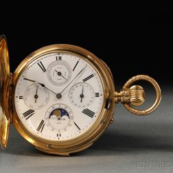 Hamilton & Company 18kt Triple Complicated Minute-repeating Watch