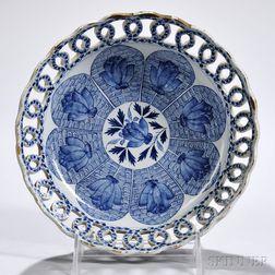 Tin-glazed Earthenware Fruit Bowl