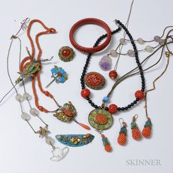 Group of Asian Jewelry