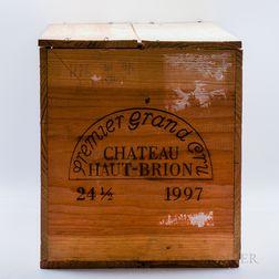 Chateau Haut Brion 1997, 24 demi bottles (owc)