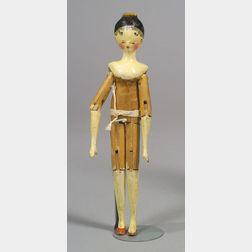 Tuck Wooden Grodnertal Doll