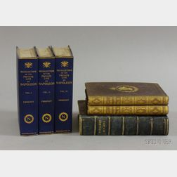Six Books Related to Napoleon and Marie Antoinette