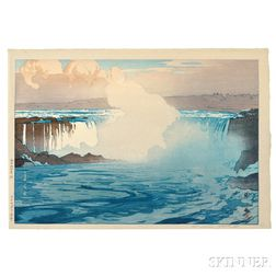 Hiroshi Yoshida (1876-1950), Niagara Falls