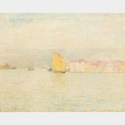 Emil Carlsen (Danish/American, 1853-1932)      Venice