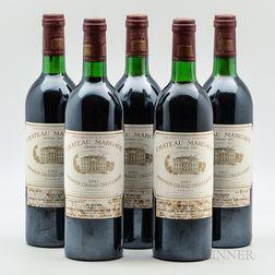 Chateau Margaux 1983, 5 bottles