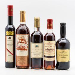 Mixed Sweet Wines, 1 bottle2 500ml bottles 2 375ml bottles