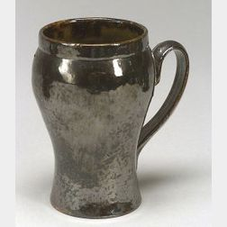 George Ohr Pottery Handled Mug