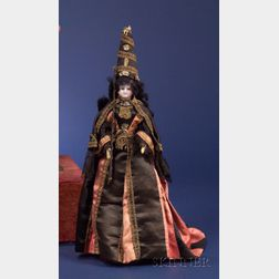 Rare French Magician's Fortune Teller Doll