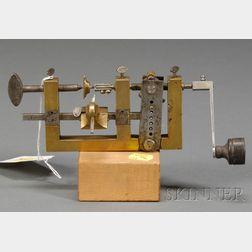 Brass Fusee Engine