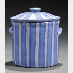 Dorchester Pottery Covered Crock