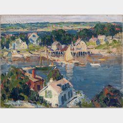 Emile Albert Gruppé (American, 1896-1978)      Rocky Neck, East Gloucester