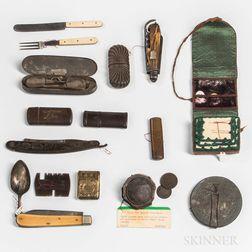Group of Civil War-era Personal Items